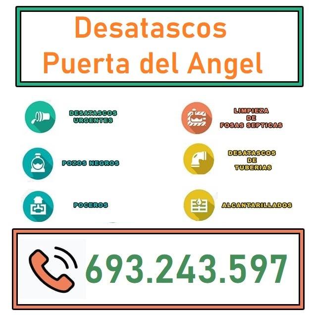 Desatascos Puerta del Angel